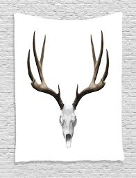 deer home decor deer skull antlers halloween hunting collection home decor wall
