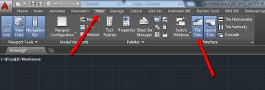 layout en autocad 2015 file tabs appear to be missing in autocad autocad autodesk