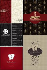 menu design resources modern cafe menu designs vector free vector graphic resources