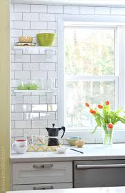 subway tile backsplash kitchen open shelves xxbb821 info