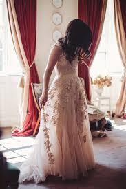 reem acra reem acra blush wedding dress size 4 wedding dress