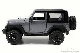 charcoal black jeep 2007 jeep wrangler charcoal jada 54027 w12 1 24 scale diecast