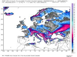 Europe Temperature Map by Europe To Greet New Year With Snow And Cold Roy Spencer Phd