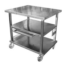 Heavy Duty Table by Quality 16 Gauge Stainless Steel Work Table With Heavy Duty 5