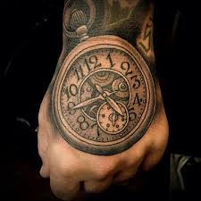 100 awesome watch tattoo designs art and design