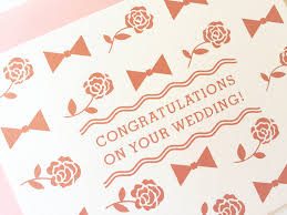wedding congrats card wedding wishes card fair skies design