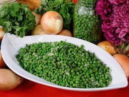 emeril s minty green peas recipe abc news
