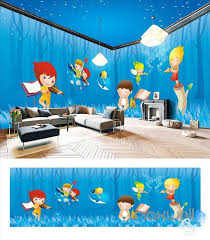 wallpaper for entire wall children park theme space entire room wallpaper wall mural decal