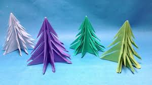 how to make christmas tree with paper christmas crafts for kids to