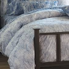 Printed Duvet Cover Bambeco Ashbury Organic Cotton Distressed Print Duvet Cover King