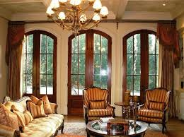 Traditional Livingroom by 15 Cozy Living Rooms With French Doors And Windows Rilane