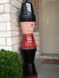 flower pot christmas soldier love this idea christmas