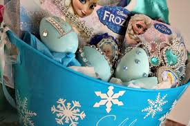 personalized basket frozen easter basket decorated eggs olive co