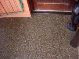 pebble flooring
