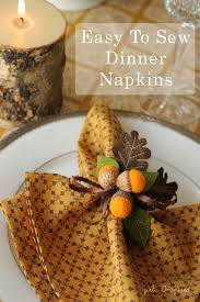 top 20 lovely diy napkin ring ideas for thanksgiving table