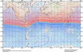 magnetic declination map magnetic declination magnetic inclination magnetic dip