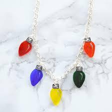 christmas light necklace vikalpah diy christmas lights choker necklace