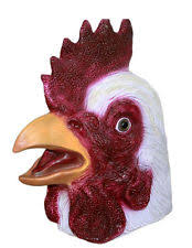 Rooster Halloween Costume Rooster Mask Ebay