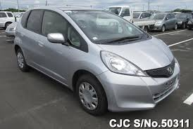 japanese used cars honda fit 2012 honda fit jazz silver for sale stock no 50311 japanese