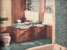 1957 briggs bathroom with mosaic tile modern design inspiration