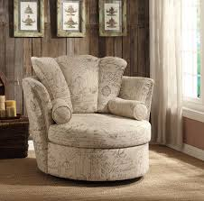 Oversized Swivel Accent Chair Homelegance Aurelia Swivel Accent Chair With 2 Pillows Letter