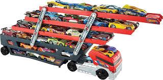 amazon com wheels mega hauler truck toys u0026 games
