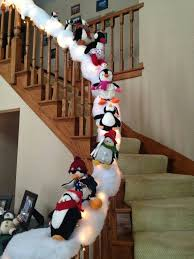 Sliding Down Banister Best 25 Banister Christmas Decorations Ideas On Pinterest