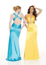 sensual halter dress in bright colors