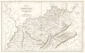 Map Of Tennessee River by Antique Maps Of Tennessee