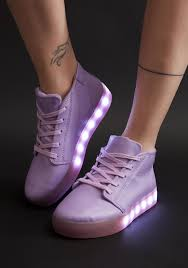 light up sneakers purple light up shoes dolls kill