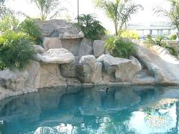 rock waterfalls for pools pools with slides and waterfalls mkua info