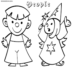people coloring pages coloring pages to download and print