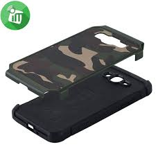 camouflage shockproof armor back cover for samsung galaxy j2