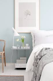Light Blue Grey Bedroom One Bedroom Two Looks Wishbone Chair Bedrooms And Calming Colors