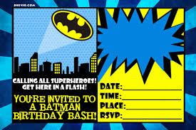 100 superhero birthday invitations templates marvel