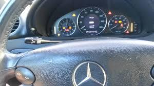 2005 mercedes benz clk500 conv reset service indicator diy http