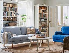 Ikea Sofas And Armchairs A Living Room With A Grey Three Seat Sofa Chaise Lounge And A
