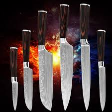new arrival paring utility 2 santoku slicing chef kitchen knives