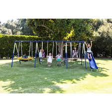 backyard discovery dillon wooden swing set walmart com