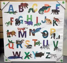 Target Wall Art by Very Cool Eric Carle Abc U0027s Wall Art Goodwillnm Local Goodwill