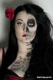 Sugar Skull Halloween Costumes 101 Creative Face Paint Images Halloween