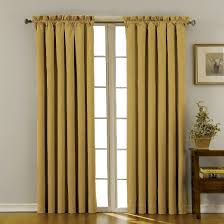 Eclipse Nursery Curtains Eclipse Thermaback Canova Blackout Curtain Panel Gold 42 X95