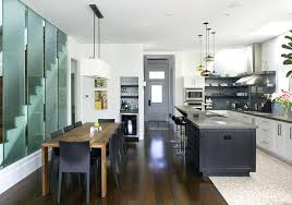 island with table attached kitchen incredible kitchen islands with tables attached also
