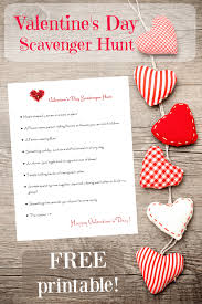 you it you buy it s day heart s day scavenger hunt for kids free printable