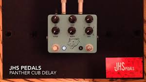 jhs delay jhs panther cub analog delay