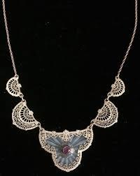 vintage glass crystal necklace images 204 best camphor glass jewelry images glass jewelry jpg