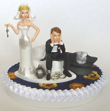 and chain cake topper cake topper ebay