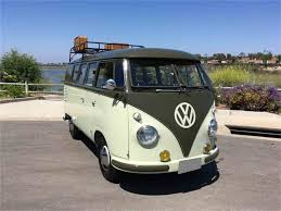 volkswagen bus beach 1958 volkswagen bus for sale classiccars com cc 988132