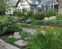 Rock Water Features For The Garden by Landscaping Ideas Front Yard Sidewalk The Garden Inspirations