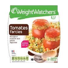 tomates cuisin s weight watchers tomates farcies boulgour cuisiné aux petits légumes